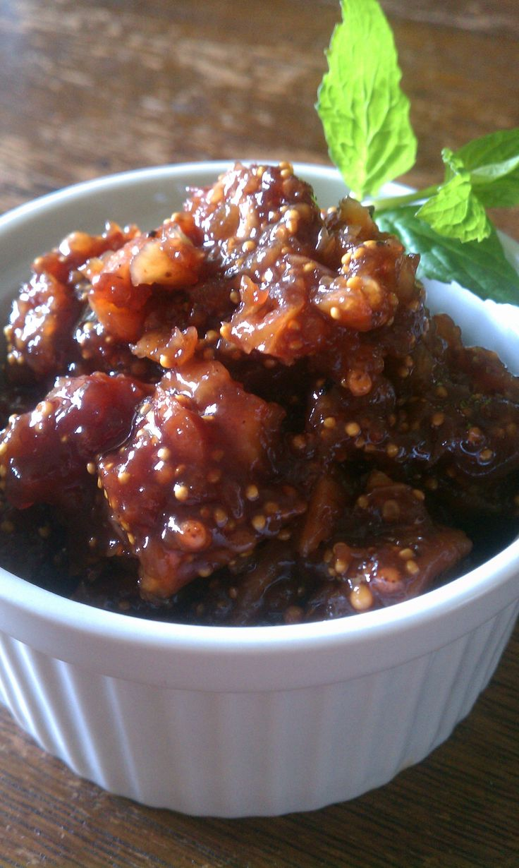 Fig Chutney. | ...on the side please.... | Pinterest