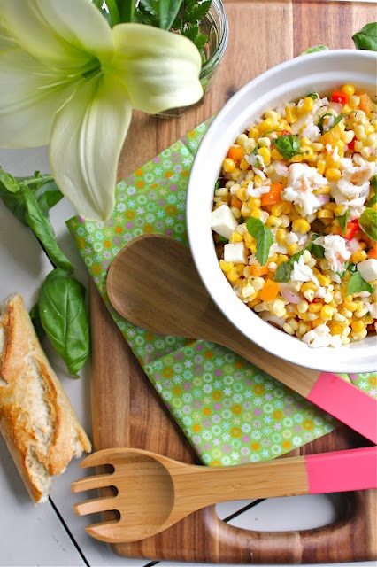 Corn and Lobster Salad. Oh My! This looks good. I've never cooked my ...