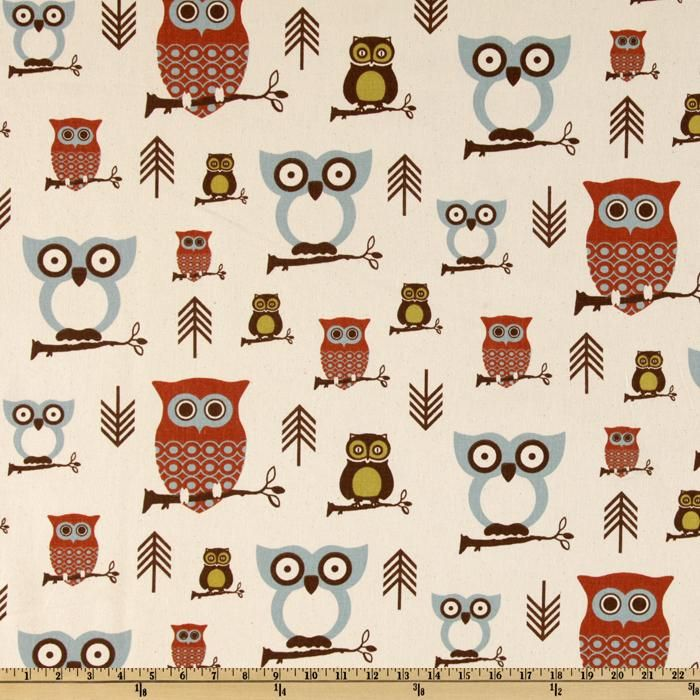 Brown Owl Curtains