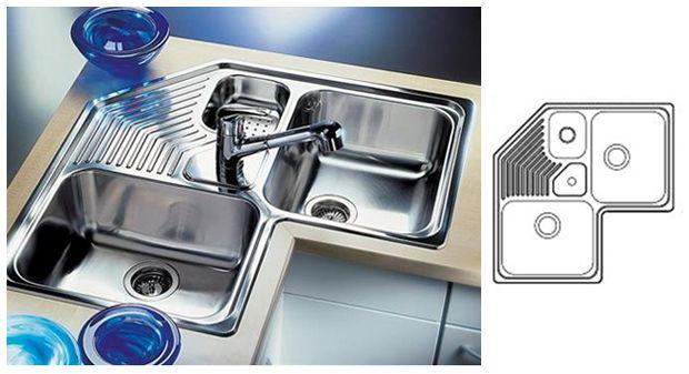 Blanco Corner Sink : corner sink BLANCO Inspirational Kitchens From Around The World P ...