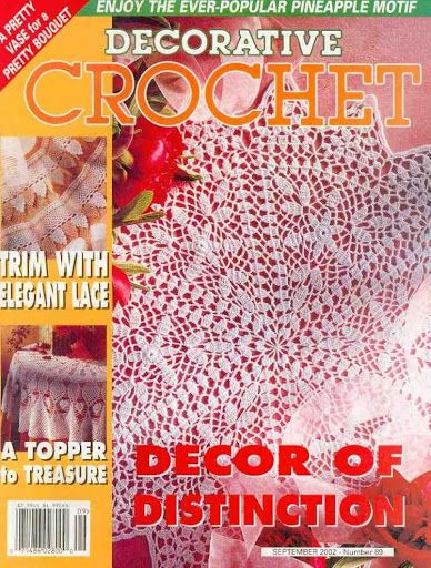 Pin by Lisa Ruscito on Decorative Crochet Magazine Pinterest