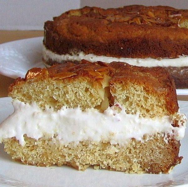 Bee Sting Cake Recipe - Recipe for Bee Sting Cake or Bienenstich
