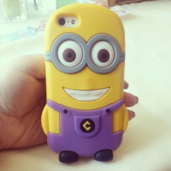 Minion cell phone caseu2661 : For my pretty phone : Pinterest