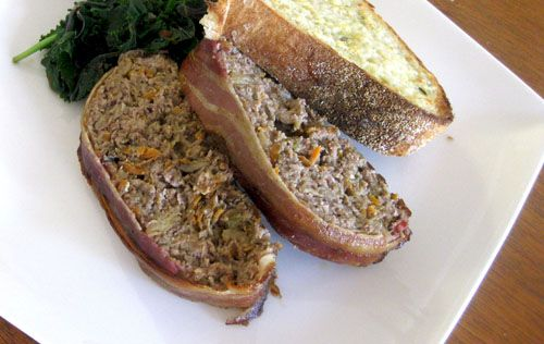 Bacon, cheddar and stout meatloaf | Noms | Pinterest