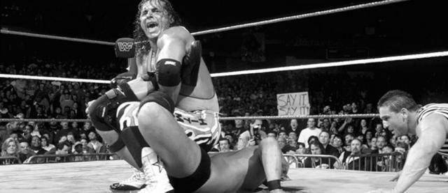 Wrestlemania 13 flashback bret hart vs steve austin