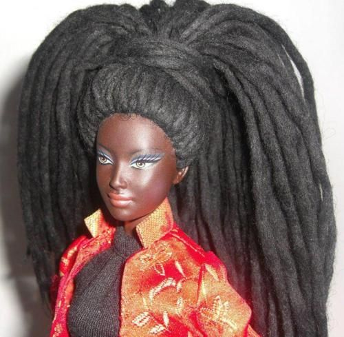 Hair Style Doll : Doll with dred hair style Dolls Pinterest