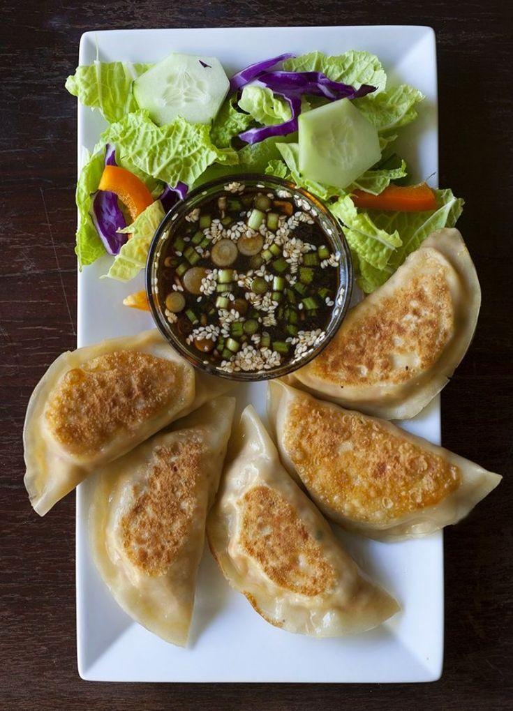 Tofu Kimchi Dumplings | Dumplings/Dim Sum/Bao/Gyoza | Pinterest