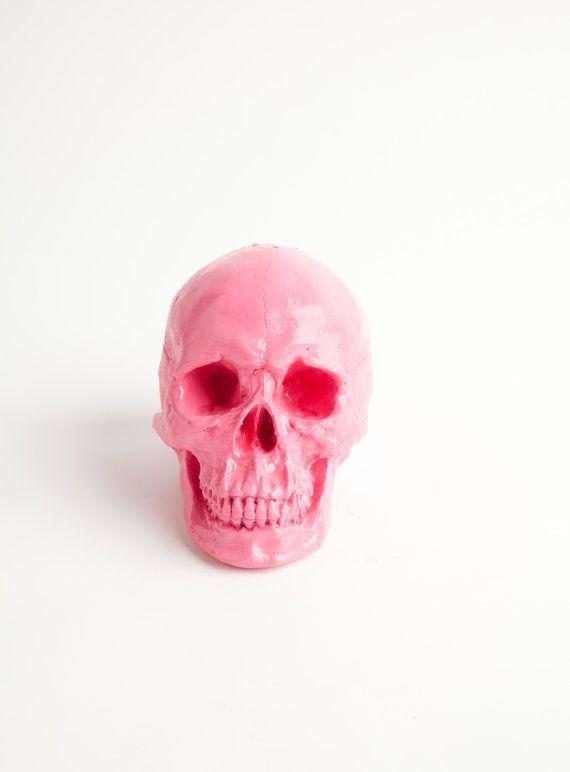 The Marianne  Bubblegum Pink Faux Human Head by WhiteFauxTaxidermy, $39.99