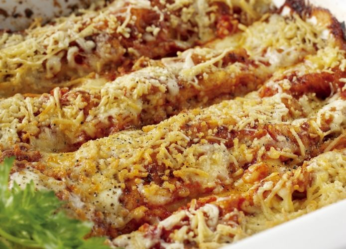 Spinach and ricotta cannelloni | Italian Dishes | Pinterest