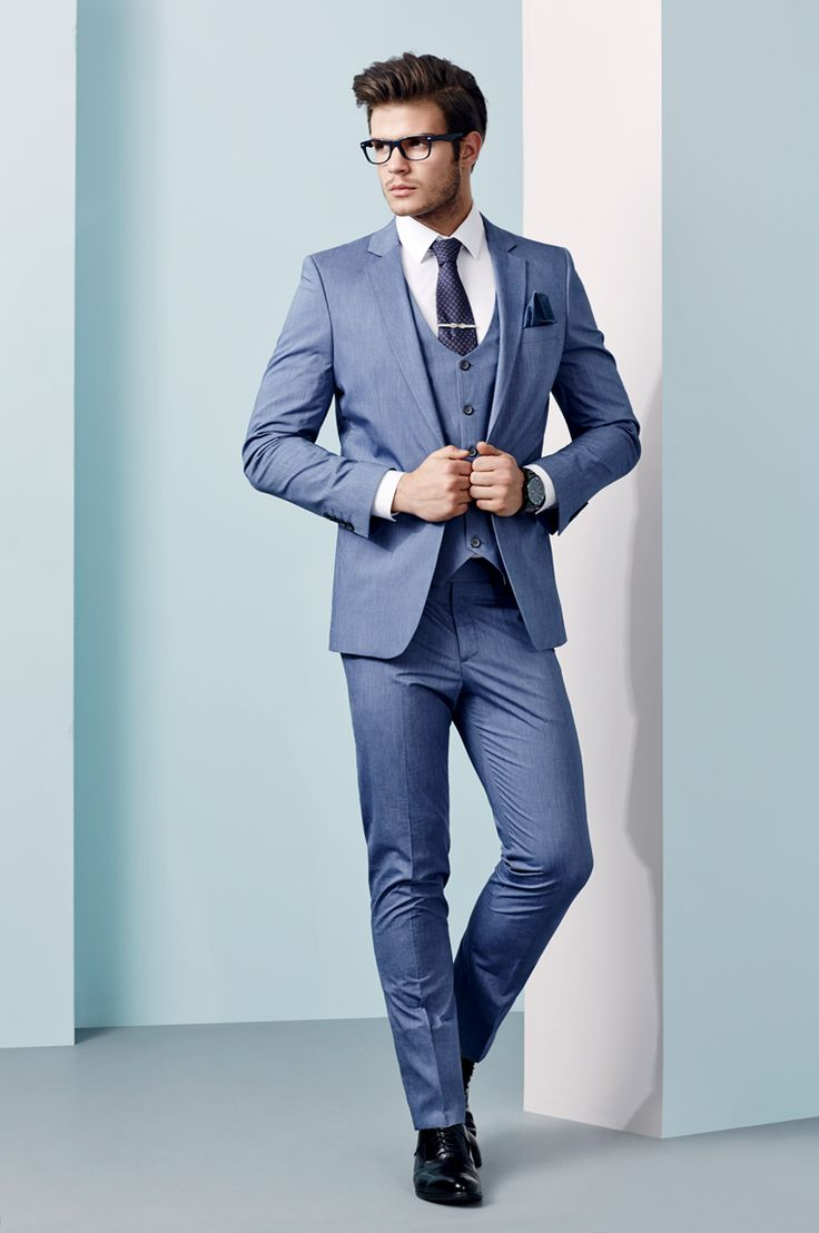 Men\'s Summer Wedding Outfit Inspiration - Three-Piece Suits Lookbook ...