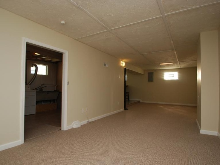 for a drop ceiling not bad finished basement ideas pinterest