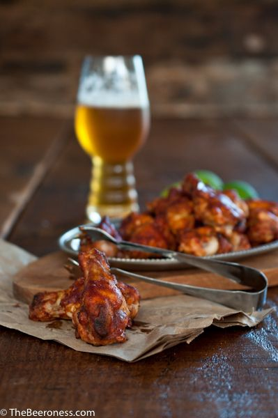 Chili Lime Beer Chicken Wings