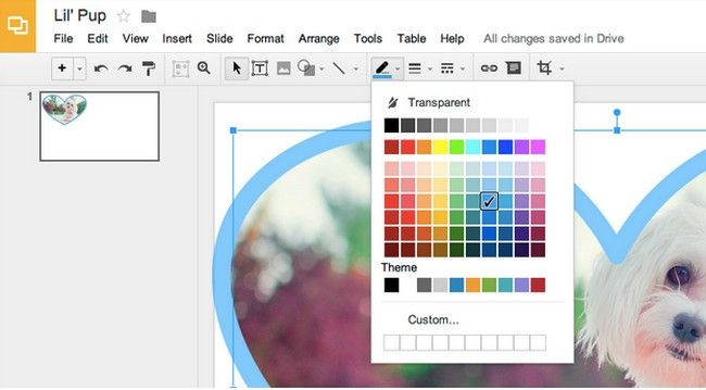 Google Slides y Drawings