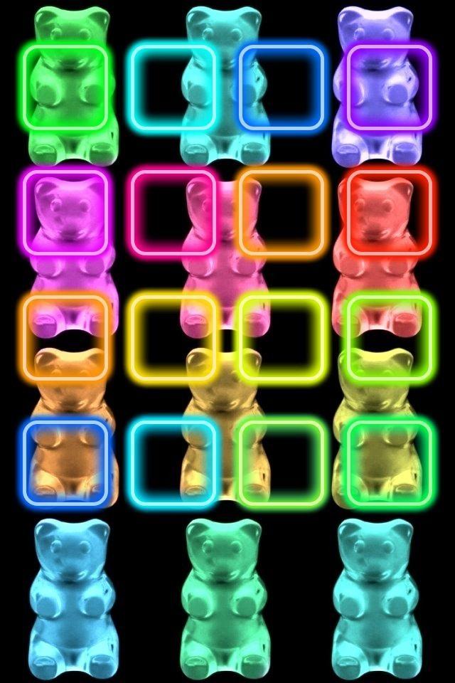 gummy bear wallpaper background ipod backgrounds