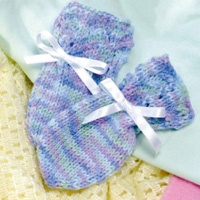 Knitting Pattern Central Baby Mittens : KNITTING PATTERN FOR THUMBLESS BABY MITTENS   KNITTING PATTERN