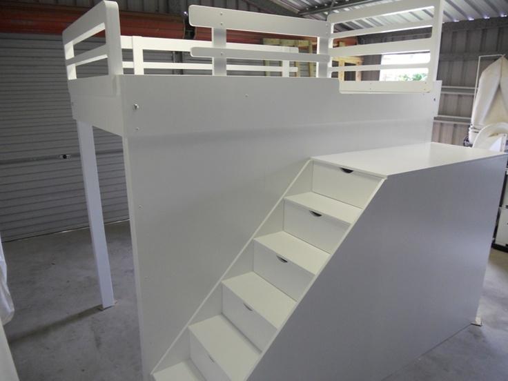 Stairs To Add To Tru 39 S Garage Loft Bed Kid S Corner