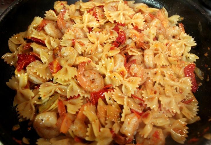 Shrimp, Artichoke, and Sundried Tomato Pasta | Favorite Recipes ...