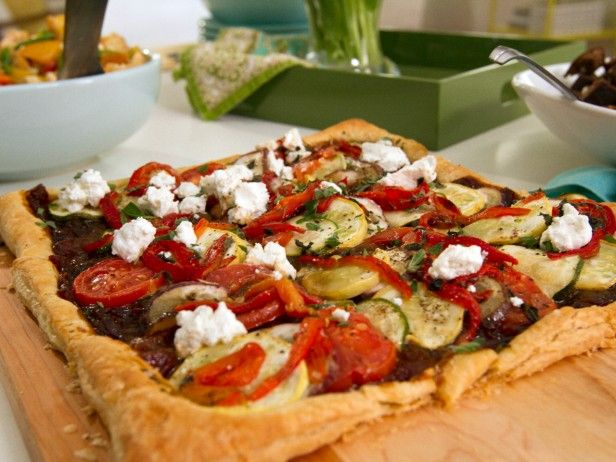 Ratatouille Tart with Caramelized Onion-Tomato Jam | Recipe