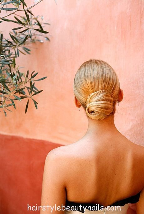 Http hairstylebeautynails hairstyles bun hairstyle Natalie portman s new hairstyles