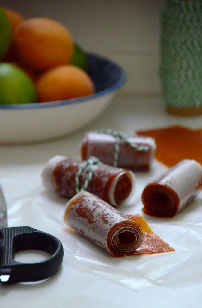 Homemade Fruit Leather, Apricot-Lime | Food (and recipes) I love | Pi ...