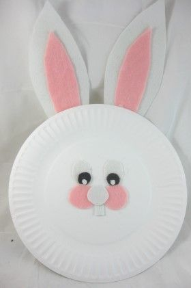 easter bunny   diy craft project with instructions from craftbits