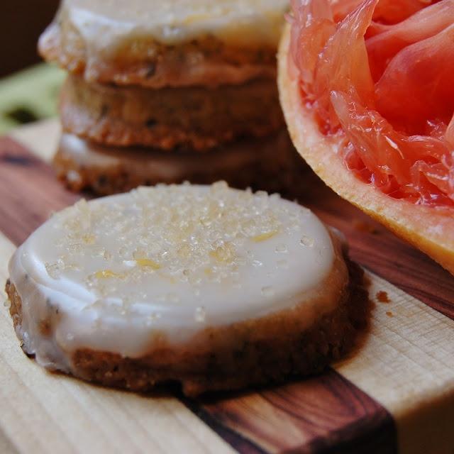 White Tea Cookies with Grapefruit Glaze | Sweet Obscenity! | Pinterest