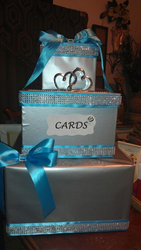 Wedding Gift Card Suggestions : Wedding gift card box Cool ideas Pinterest