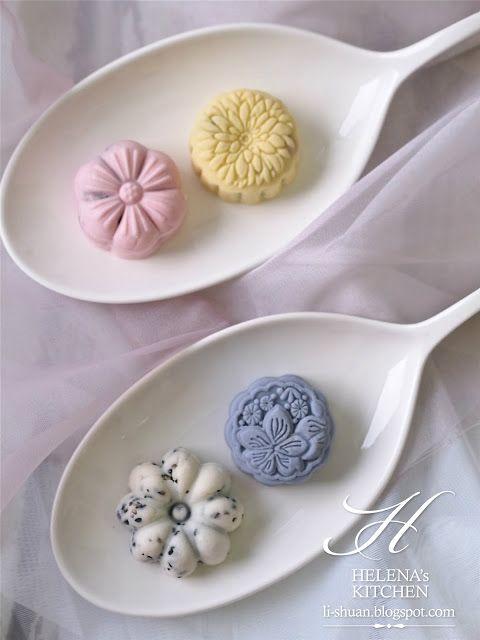 Snow skin mooncake | Food | Pinterest
