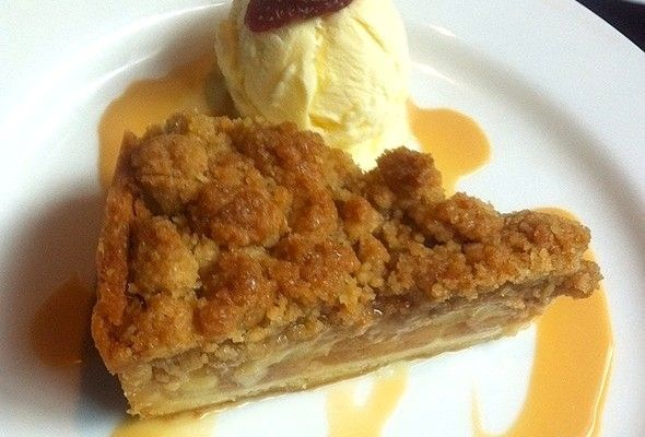 Cinnamon Apple Crumb Pie Recipe | Sweet Stuff | Pinterest