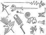 17 - Tenia una importante iconografía en la cerámica y textileria, incluyendo una hermosa figura en las pampas de Nazca y era nada menos que un singular colibrí. - luego vino lo mejor, el premio a la constancia, cuando encontré la explicación de como Chiwake, nuestro heraldo, había enseñado a cocinar a los antiguos peruanos con la misma habilidad que los Dioses, entonces sentí una plena satisfacción... al añadir a mi intelecto algo importante, trascendente los peruanos cocinan como los dioses.