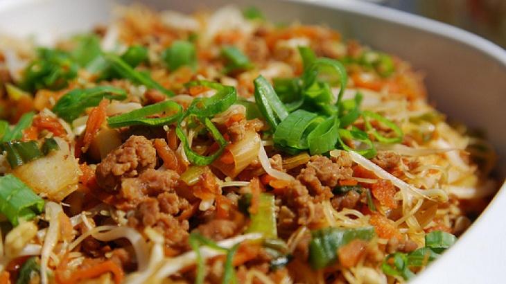 Vietnamese Rice-Noodle Salad | Vietnamese Delectables | Pinterest