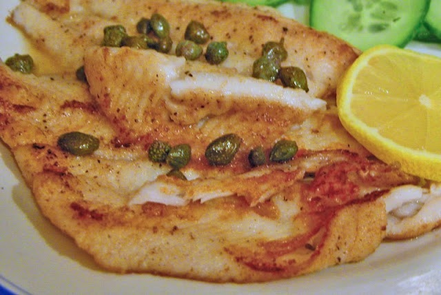 Pan Fried Sole with Lemon and Capers | Recipes to Try | Pinterest
