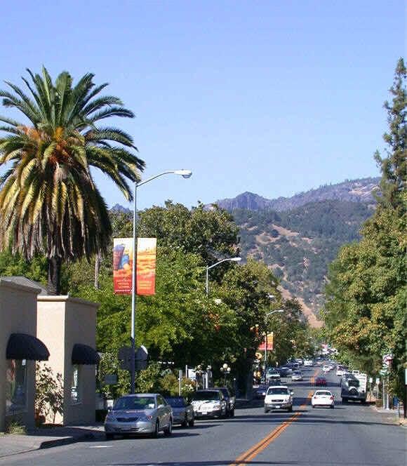 Calistoga, California, Napa Valley   Our home...California ...