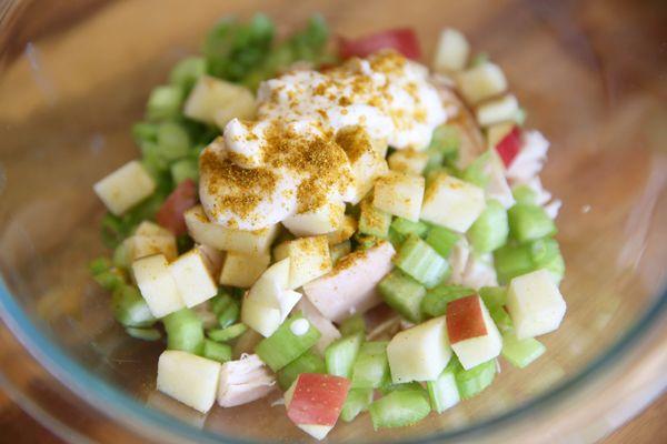 Skinny Chicken Salad | recipes | Pinterest