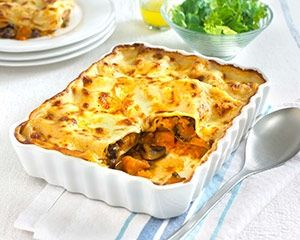 Butternut squash and mushroom lasagna recipe from Complete Family ...