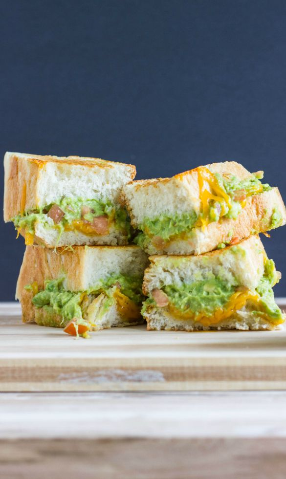 Guacamole Grilled Cheese Sandwiches. | My Blog (Recipes!) | Pinterest