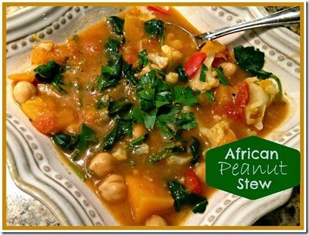Vegetarian African Peanut Stew | Gluten Free Recipes | Pinterest