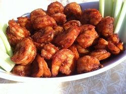 Oven Roasted Buffalo Shrimp | {Seafood} Shellfish | Pinterest