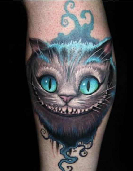 Alice in Wonderland arm tatt | Tattoos and Piercings ...