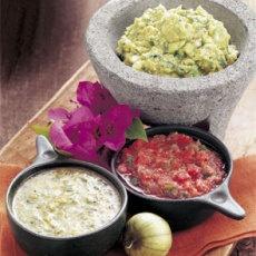 Guacamole with Roasted Tomatillos | GUACAMOLE | Pinterest