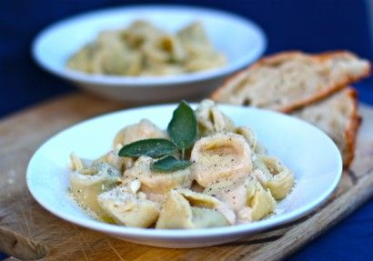 Lemon Mascarpone Brown Butter Tortellini | Tasty Kitchen: A Happy ...