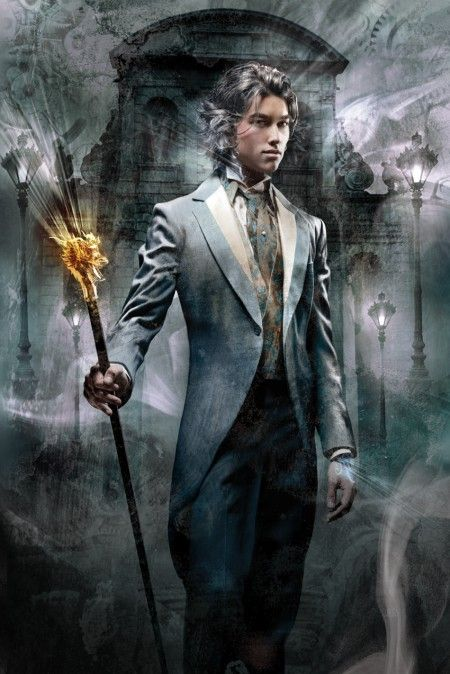 "Cliff Nielsen Art; Cover of ""Clockwork Prince"" by Cassandra Clare"