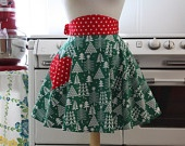 Retro Christmas Aprons