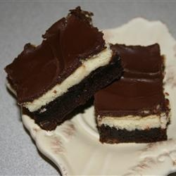 cheesecake topped brownies | bars/brownies | Pinterest