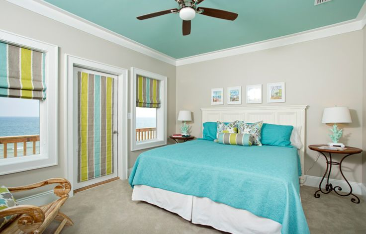 Paint Ceiling As Accent Wall A Bedroom Pinterest