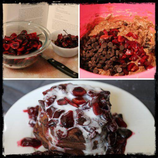 black forest pancakes | Recipes | Pinterest