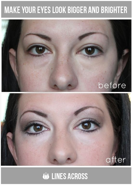 How To Make My Eyes Look Bigger And Brighter Naturally