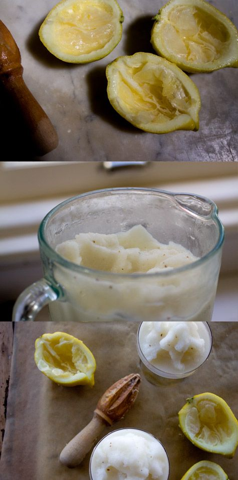lemon anise slush - instructions; blend. ingredients; 1/2 cup fresh ...