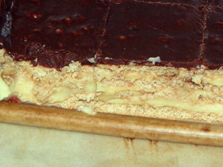 No-Bake Boston Cream Pie Strata photo | Recipes I need to try! *Desse ...
