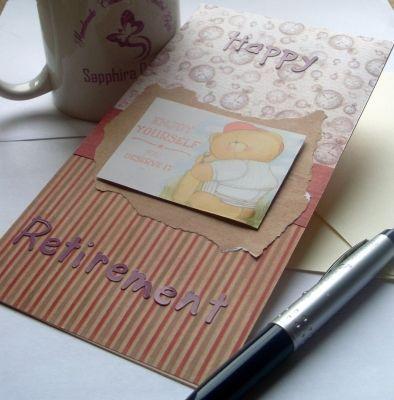 Handmade Retirement Card